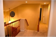 The upstairs offers great lighting with recessed lights and acce