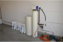 Water softner is optional if the new home owner would like to ta