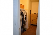 Large master bedroom walk in closet