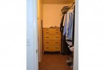 Large master bedroom walk in closet