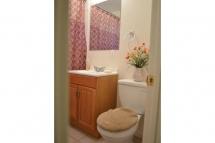 2nd Full Bathroom through Hallway.
