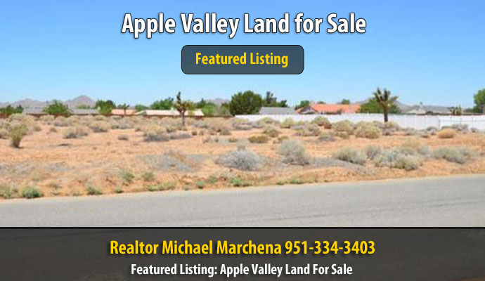 Tenaya RD Apple Valley 92307 | Land for Sale in Apple Valley California