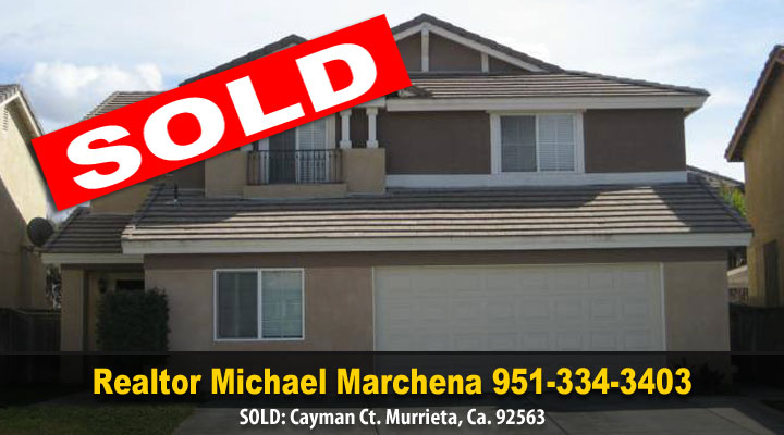 Another happy homeowner in Murrieta California