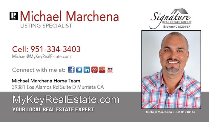 Realtor Michael Marchena