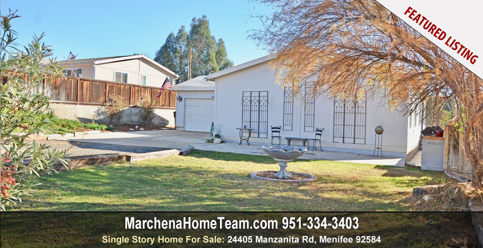 Home for Sale in Menifee California