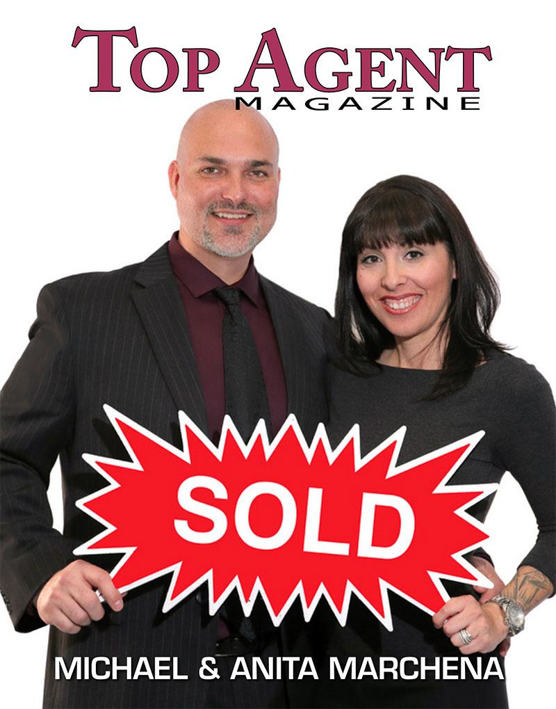 Michael & Anita Marchena Top Agent Magazine